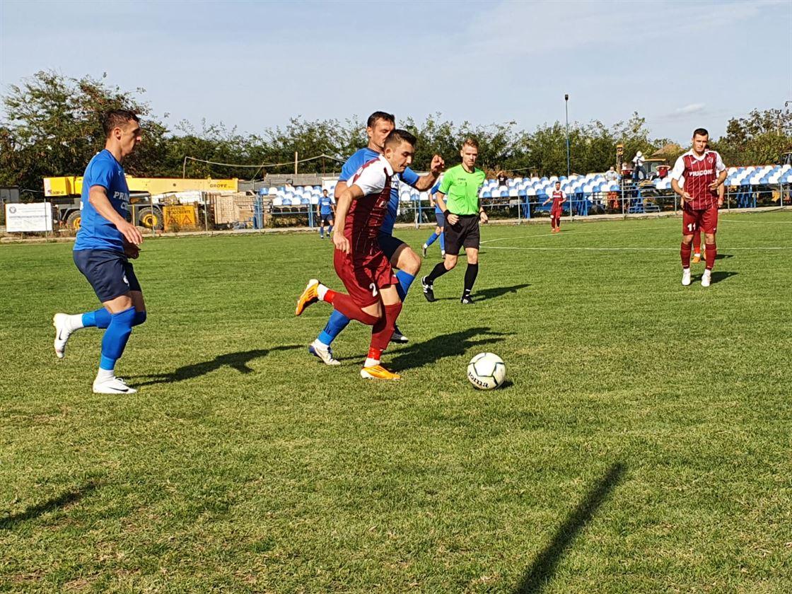 Meciuri dificile pentru echipele brăilene în etapa a VII-a a Ligii a 3-a
