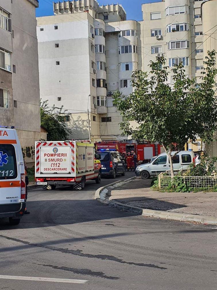 Incendiu, cu pagube materiale însemnate, produs într-un apartament de pe Bulevardul Dorobanților