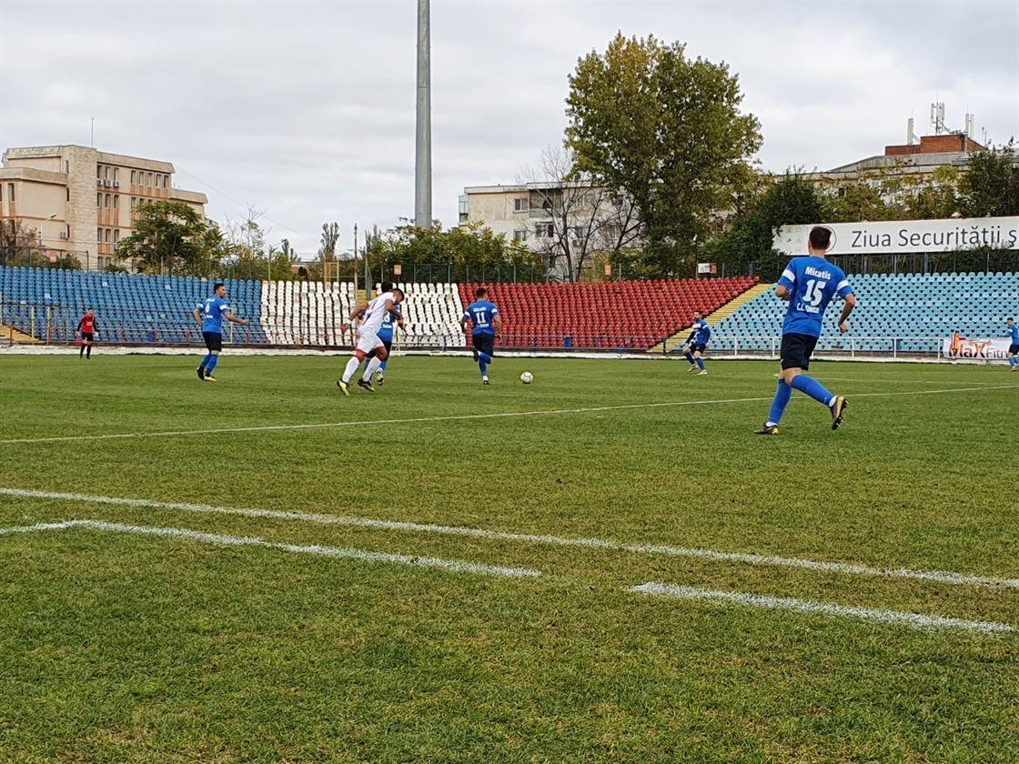 Sportul Chiscani învinsă la scor de SC Oțelul Galați
