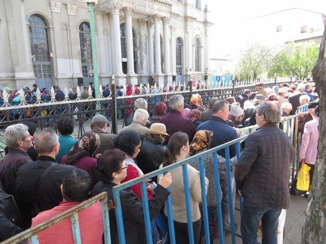 Peste 9000 de enoriasi au fost la Braila, la Izvorul Tamaduirii