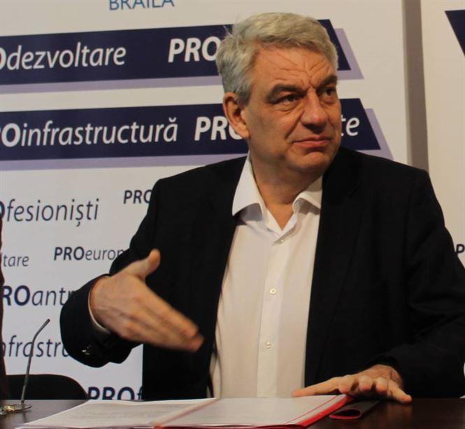 Opt primari din Brăila și-au declarat susținerea pentru Mihai Tudose și Pro România