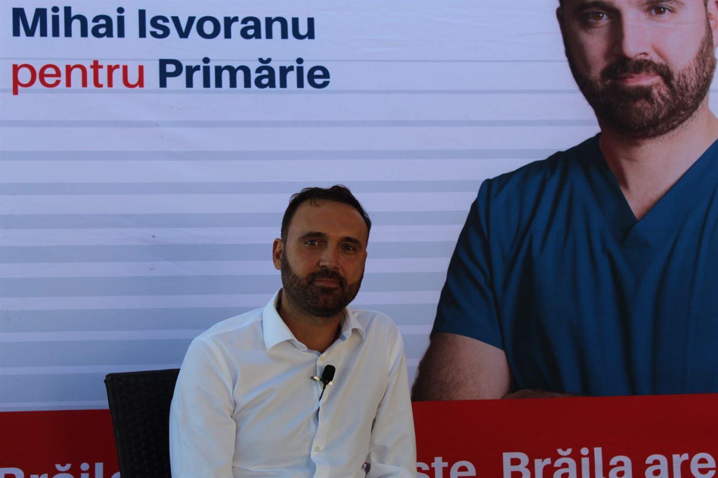 Mihai Isvoranu: Am putea crea burse pentru cei care vor să urmeze o carieră în pediatrie