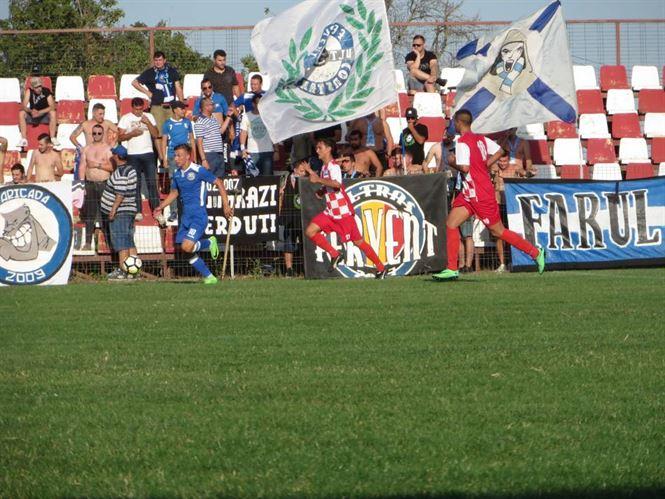 Victoria Traian a scapat doar cu 3 goluri primite in meciul cu Farul Constanta