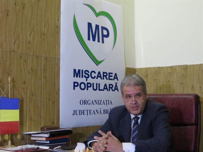 Presedintele Miscarii Populare impotriva maririi impozitelor