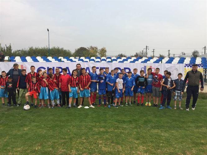 Echipa școlii din Gropeni a câștigat etapa a II-a a Cupei Satelor fără să primească gol