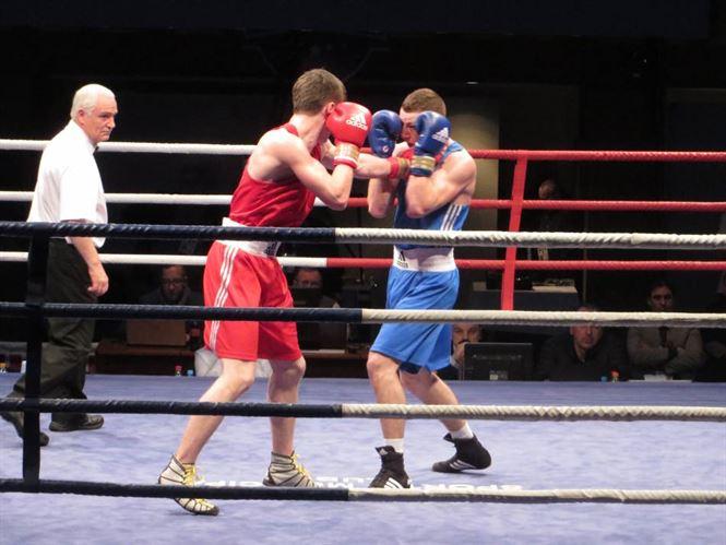 Galerie foto+Video: Toti cei patru romani au pierdut in ziua a 3-a a europenelor de box U 22 de la Braila