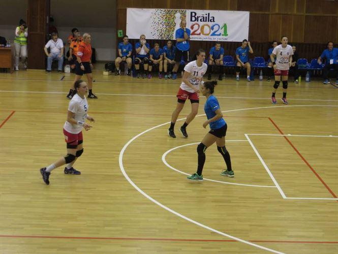 Braila a pierdut la cinci goluri meciul cu HCM Baia Mare