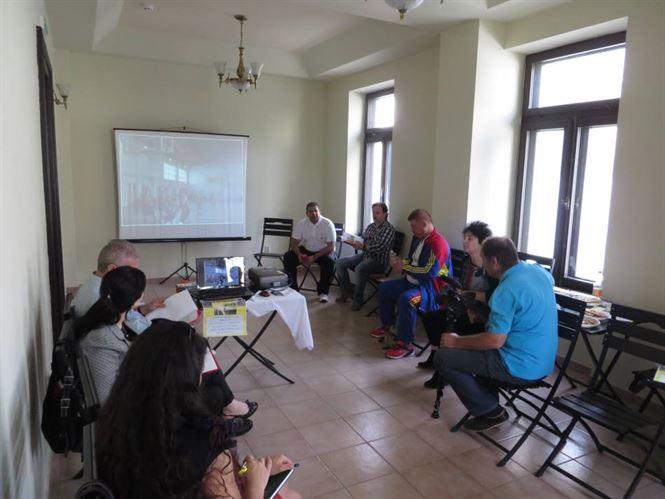"""Lansarea proiectului """"Caravana baschetului brailean"""""""