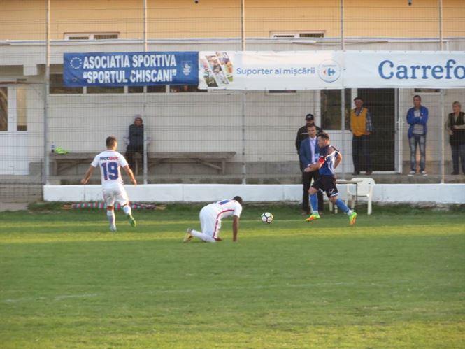 Sportul Chiscani joaca vineri cu Delta Dobrogea Tulcea