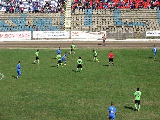 Dacia Unirea revine de la 0-1 si catiga cu 2-1 in fata celor de la Metaloglobus