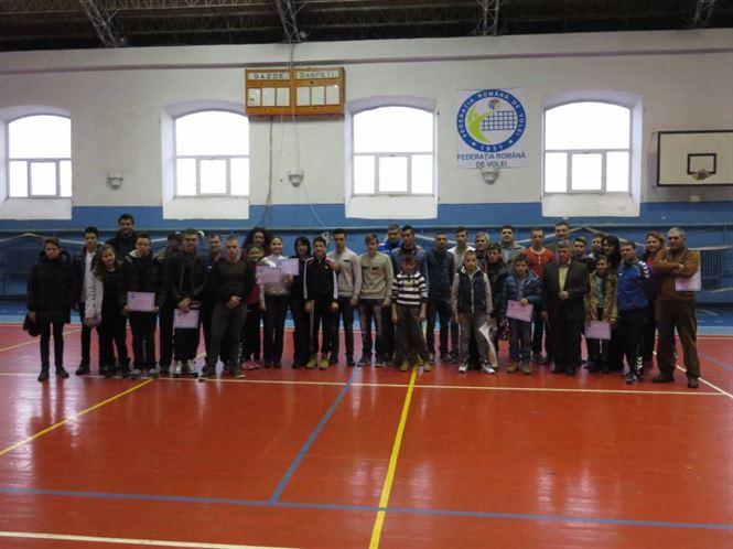 Mos Craciun a venit vineri la sportivii si antrenorii de la CSM Braila