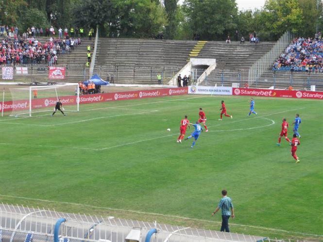 Dacia Unirea a pierdut cu Dinamo, dupa ce a condus cu 1-0