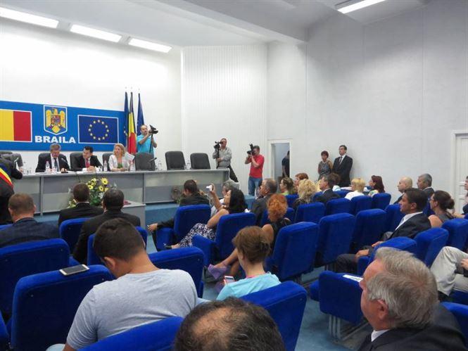 Vezi cine sunt noii consilieri municipali braileni