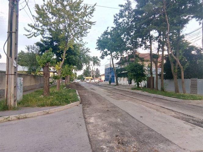 Restricții de circulație pe strada Chișinăului din cartierul Radu Negru