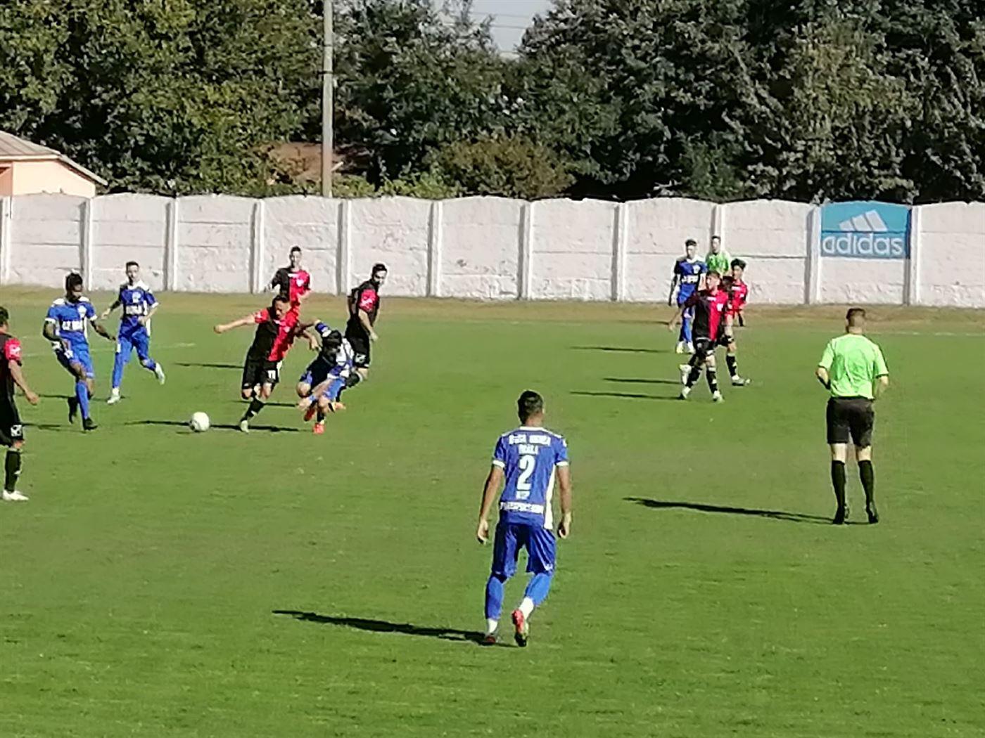 Dacia Unirea Brăila a câștigat cu 5-1 derby-ul cu CS Făurei