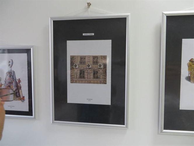 """Vernisajul expozitiei """"Salonului international de caricatura"""""""