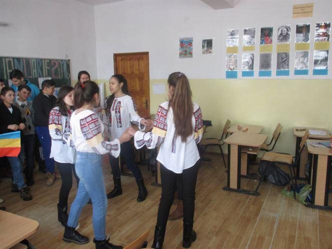 Unirea Principatelor, sărbătorită la Școala Gimnazială din comuna Mircea Vodă