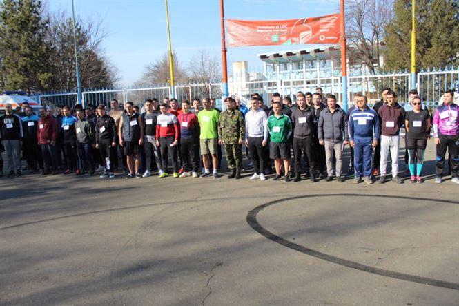 Militarii brăileni au alergat cu ocazia Zilei Consiliului Internaţional al Sportului Militar