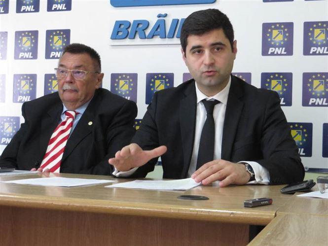 Danaila critica proiectul de buget supus dezbaterii publice de Primaria Braila