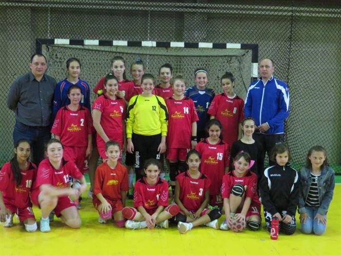 Echipa de handbal junioare IV a LPS Braila s-a calificat la turneul semifinal de pe locul 2