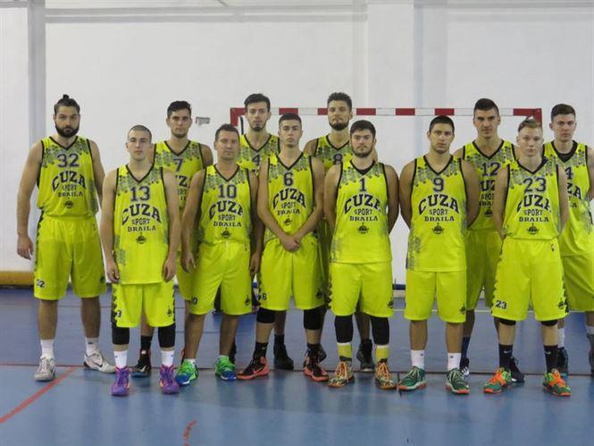 Cuza Sport Braila a castigat categoric meciul cu CN Aurel Vlaicu