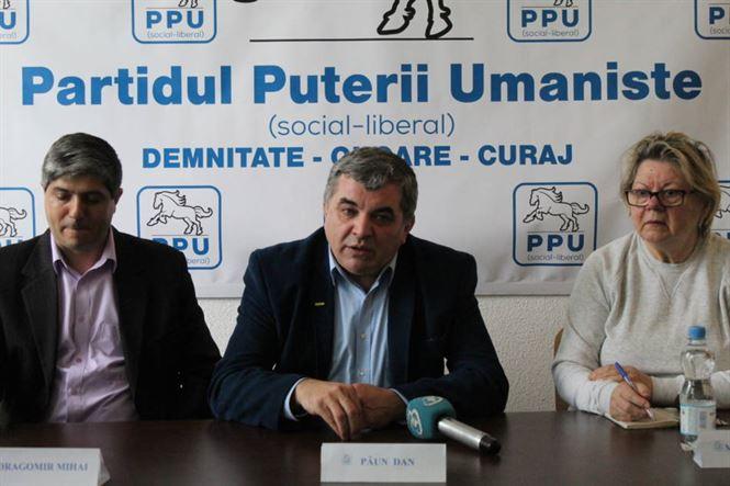 Dan Păun a ales doctrina umanistă deși a avut și alte oferte politice