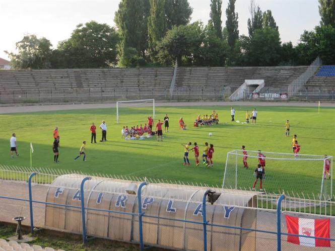 Vineri au avut loc primele meciuri ale turneului final de juniori E