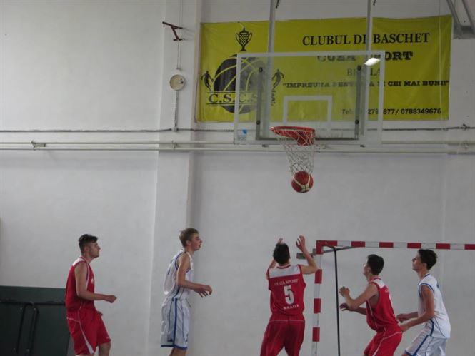 Juniorii U 16 de la Cuza Sport Braila, inca un pas catre turneul final
