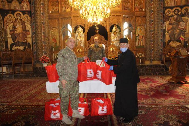 Acțiune filantropică a militarilor brăileni
