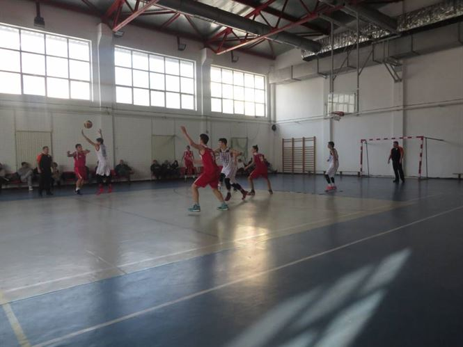 Juniorii U16 de la Cuza Sport Braila au pierdut meciul cu Steaua