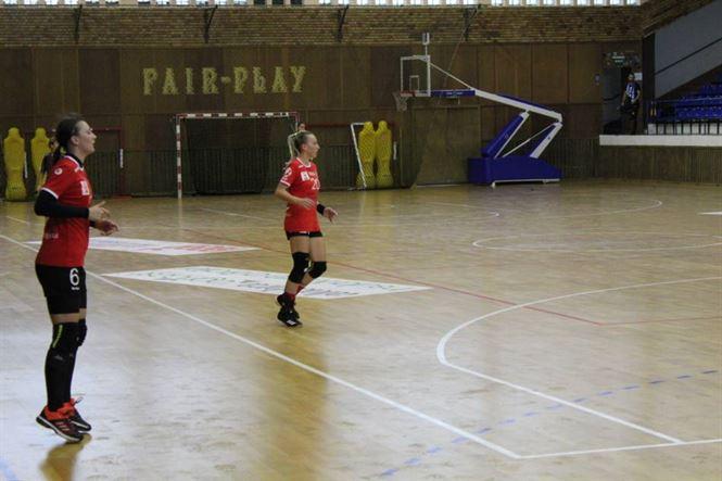 Echipa de Divizia A a HC Dunărea a câștigat în dplasarea de la Roman