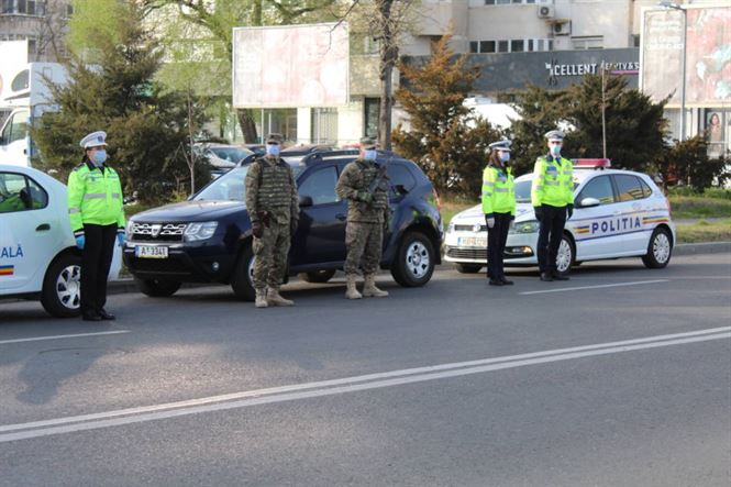Polițiștii brăileni au desfășurat și astăzi mai multe acțiuni de verificare a respectării prevederilor Ordonanței Militare 3