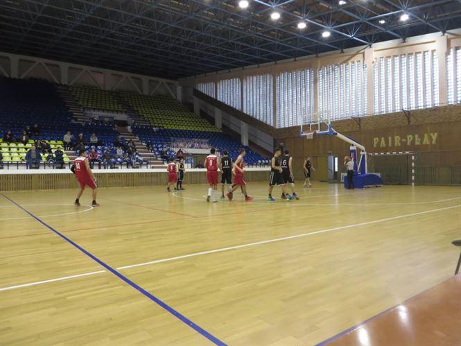 A treia victorie pentru baschetbalistii de la U16 in turneul semifinal