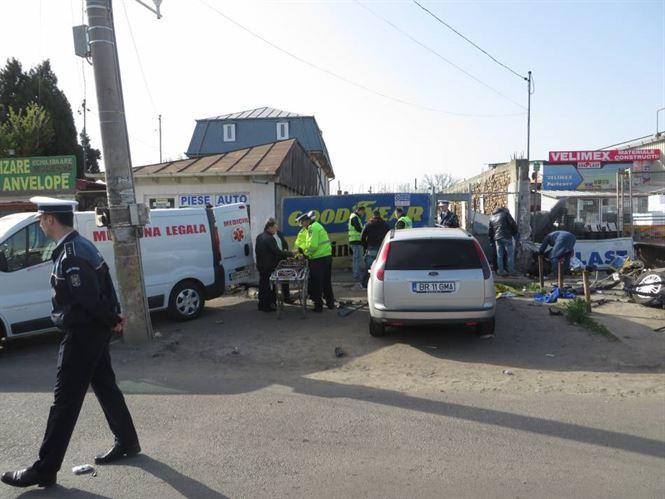 Galerie foto+video:Cel mai grav accident produs in ultimii ani in municipiul Braila