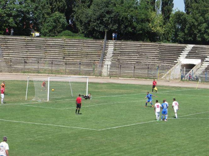 Galerie foto+video: Dacia Unirea Braila castiga cu doua goluri din penalty