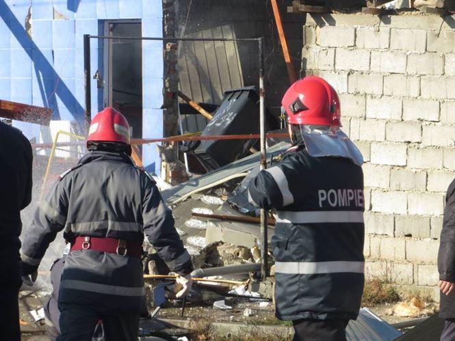 Explozie la un imobil de e strada Castanului din cartierul Radu Negru