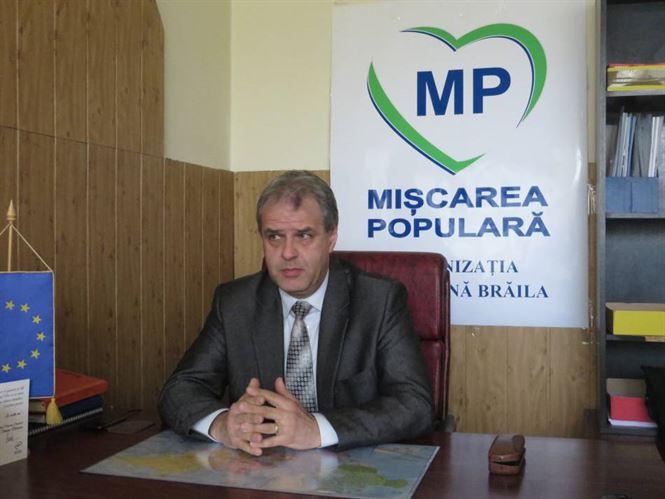Presedintele Miscarea Populara Braila despre retinerea primarului Simionescu