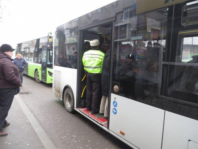 Actiuni ale Braicar impreuna cu Politia Locala, pentru depistarea calatorilor fara bilet