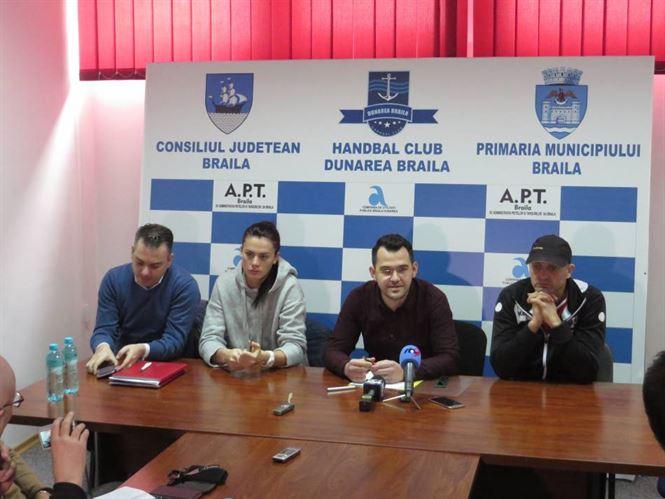 Caranica: Astazi s-a achitat partial o factura restanta catre jucatoarele de la HC Dunarea
