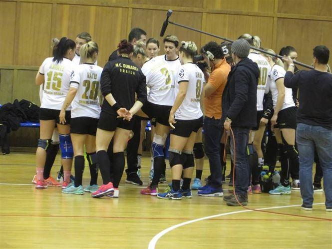 HC Dunarea intalneste astazi pe CSM Bistrita, in tentativa de calificare in Final Four-ul Cupei Romaniei