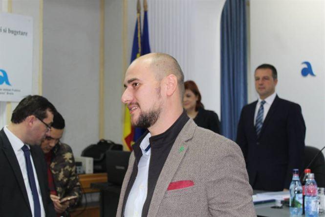 Alexandru Bașno este începând de astăzi noul consilier municipal al PNL