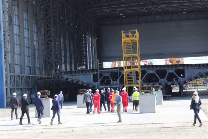 Premierul Orban în vizită la Șantierul Naval Brăila