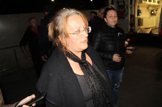 Aproape 50 de brăileni au protestat în fața Spitalului Județean