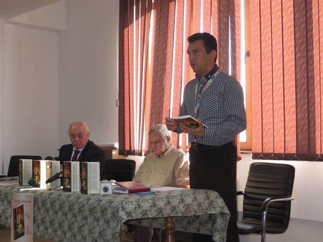 Rasvan Popescu si-a lansat la Braila a 8-a carte
