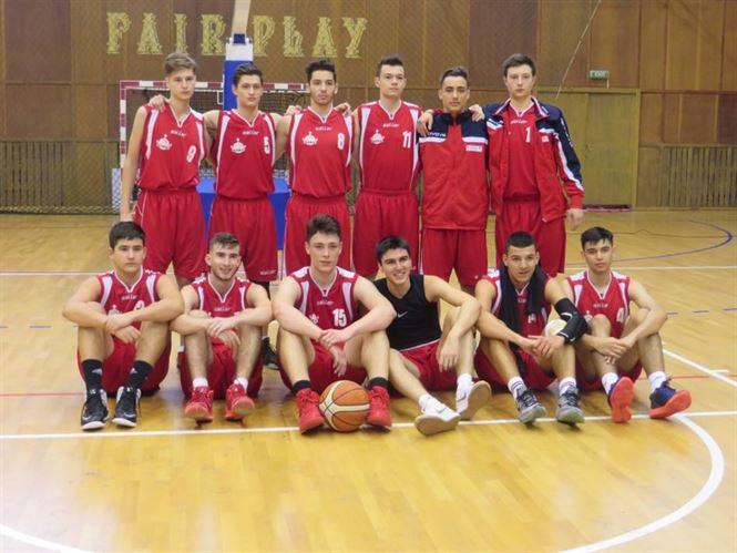 Juniorii U18 de la Cuza Sport se pregatesc pentru cele trei turnee din faza de recalificare