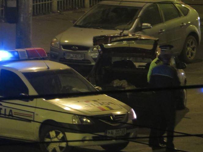 Sofer baut a produs un accident soldat cu pagube materiale si ranirea pasagerilor