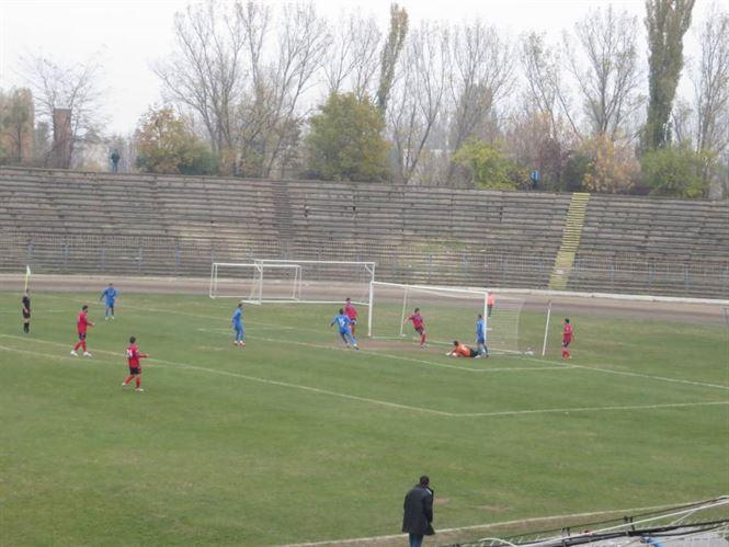 Dacia Unirea Braila a invins cu 2-0 pe Gloria Buzau