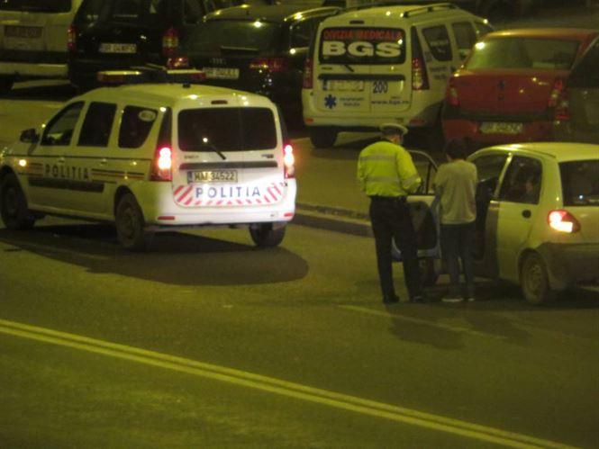Polițiștii brăileni au testat 20 de șoferi cu aparatul etilotest