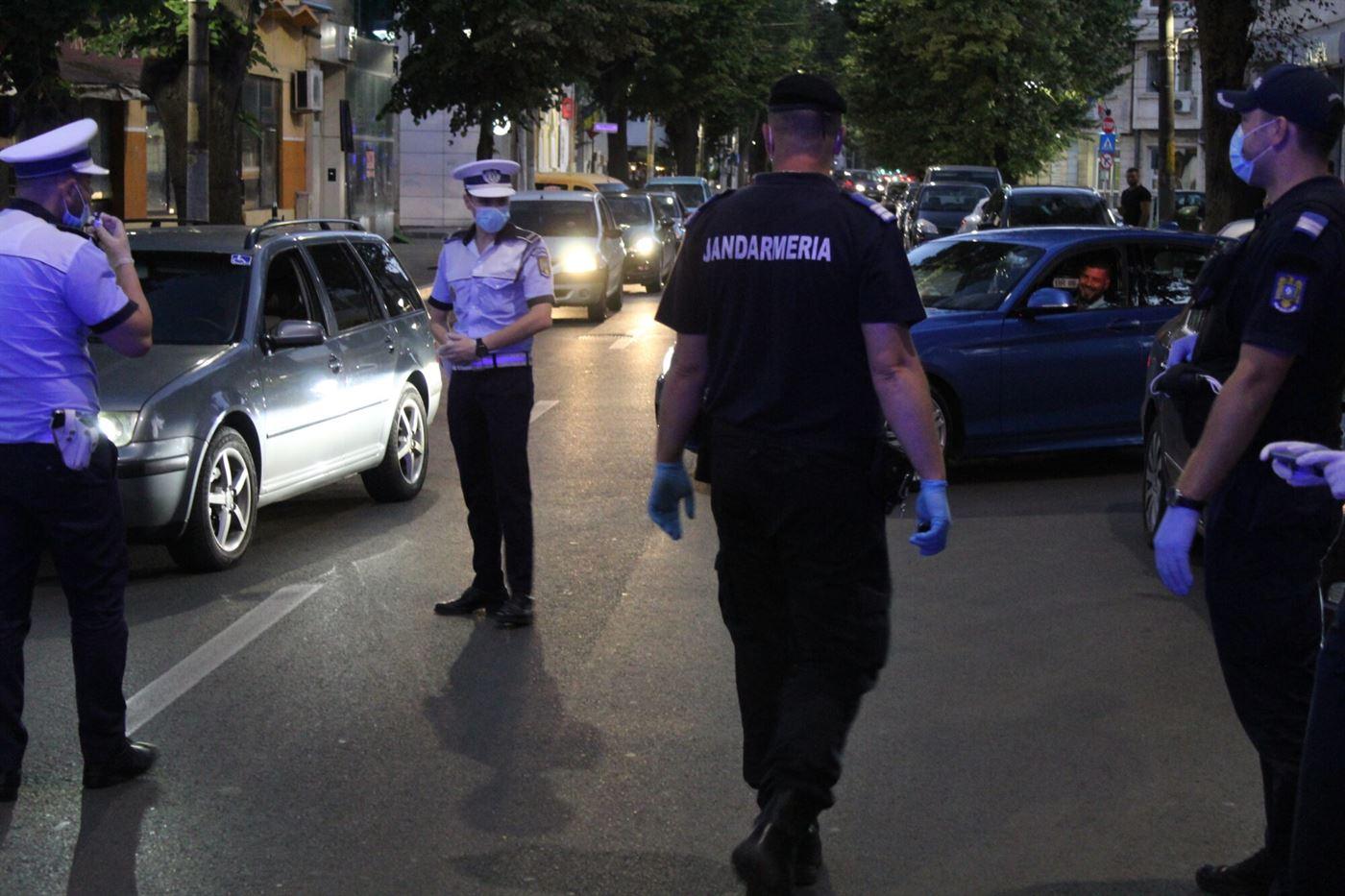 Acțiuni ale poliției în piețe, supermarketuri, stații de carburant și săli de jocuri