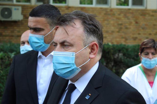 Ministrul sănătății în vizită inopinată la Spitalul Județean Brăila